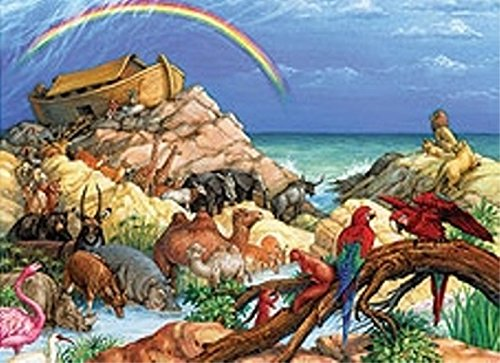 Childrens Holiday Jigsaw Puzzles (Noah's Ark)