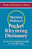 img - for Merriam Webster's Pocket Rhyming Dictionary (Pocket Reference Library) book / textbook / text book