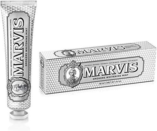 MARVIS® Smokers Whitening Mint 85 ml   Zahncreme für natürlich weiße Zähne   intensive und anhaltende Frische   kühle Minze