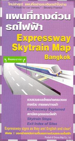 Expressway & Skytrain Map of Bangkok