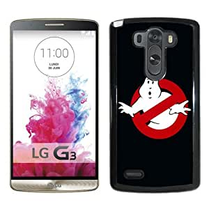 Best Buy Design The Ghostbusters Logo Black Durable LG G3 Protective Skin Cover Case