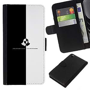 All Phone Most Case / Oferta Especial Cáscara Funda de cuero Monedero Cubierta de proteccion Caso / Wallet Case for HTC DESIRE 816 // Valar Morghulis Valar Dohaeris