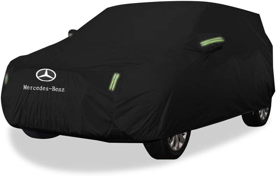 QiUzQIing couvertures de voiture Mercedes Benz GLC B/âches soleil en tissu /épais SUV Oxford protection couverture chaude pluie couvre voiture Accessoires de voiture
