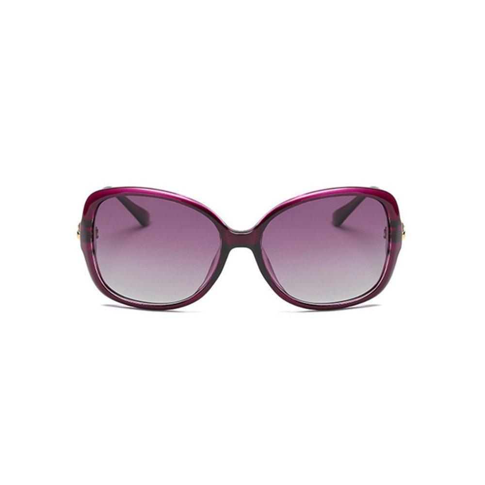 Aoligei Doppel-Farbe Dame Polarisierende Sonnenbrillen Sonnenbrillen Fahrer Spiegel Brille Vhk2a5