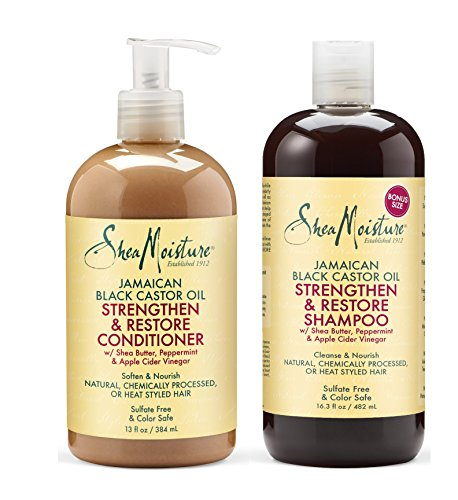 Shea Moisture Strengthen Grow Amp Restore Shampoo And