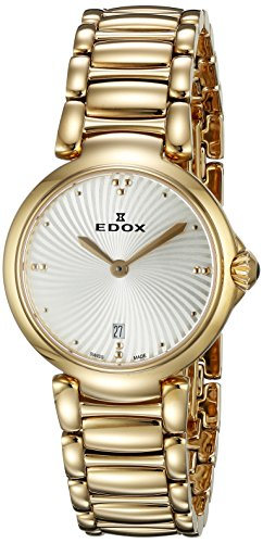 Edox-Womens-57002-37RM-AIR-LaPassion-Analog-Display-Swiss-Quartz-Rose-Gold-Watch