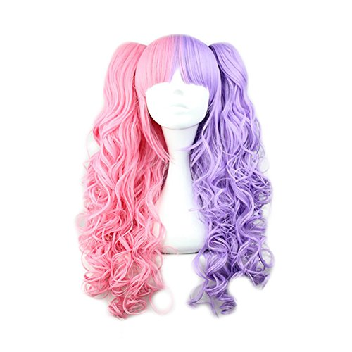 Mcoser Lolita Cruly Ponytails Purple product image