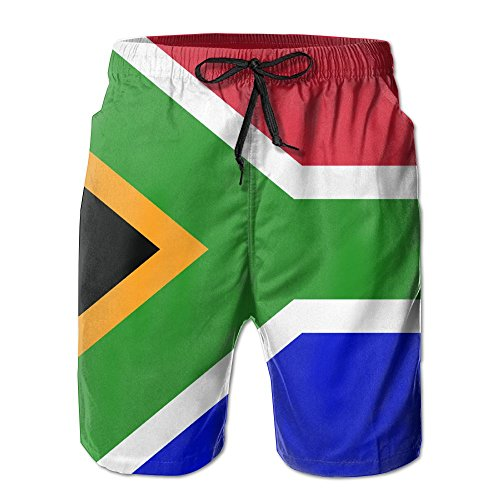 th African Flag Swimming Trunks ()