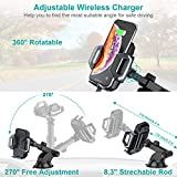 CHOETECH Wireless Car Charger, 10W Max Qi
