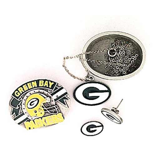 NFL Green Bay Packers 4 in 1 Trinket Box