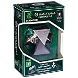 BePuzzled Hanayama Level 1 Diamond Metal-Cast Brain Teaser Puzzle