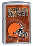 Personalized Zippo Lighter NFL Cleveland Browns - Free Engraving