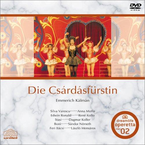 エメリッヒカールマン 「チャールダーシュの女王」 [DVD] B0001N1PRS