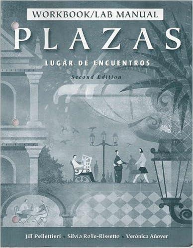 Book Plazas 2e-Workbook/Lab Man