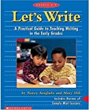 Let's Write, Professional Books Staff and Nancy Areglado, 0590931024