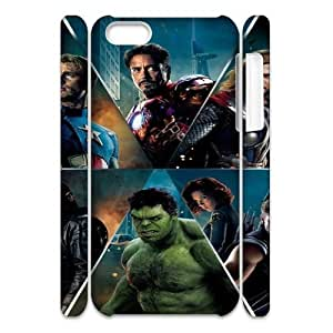 The Avengers YT7036356 3D Art Print Design Phone Back Case Customized Hard Shell Protection Iphone 5C