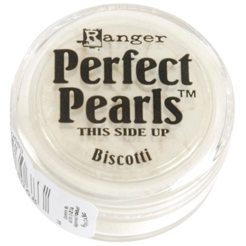 Ranger Pearls Embossing (Ranger PPP-30683 Perfect Pearls Pigment Powder, Biscotti)