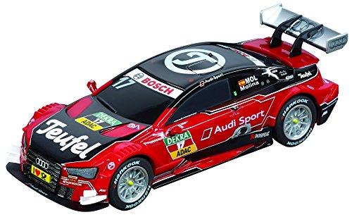 Carrera 64090 GO!!! Audi Teufel RS 5 DTM, Miguel Molina, No.17 Slot Car Vehicle (1:43 Scale) from Carrera