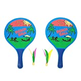 Vbestlife Paddle Ball Game,Outdoor Creative Entertainment Paddles Ball Beach Balls Racket Table Tennis Ping Pong Rackets Indoor/Outdoor Racquet Game For Active Play