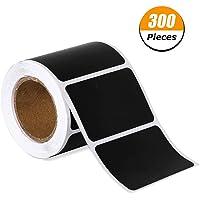 Auidy_6TXD Etiquetas de Pizarra, 300 Piezas Impermeable Reutilizable