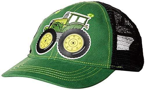 John Deere Toddler Baseball Cap green//black