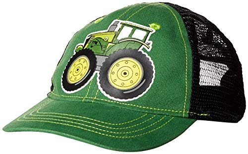John Deere Toddler Baseball Cap, green/black