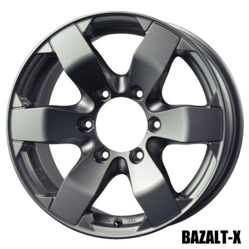 バドックス 4本セット BAZALT-X 15 x 6.0J 33 6H 139.7 B008606HQ2