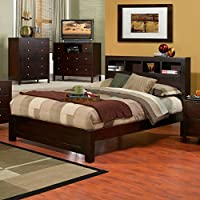 Alpine Furniture Solana Platform Bed