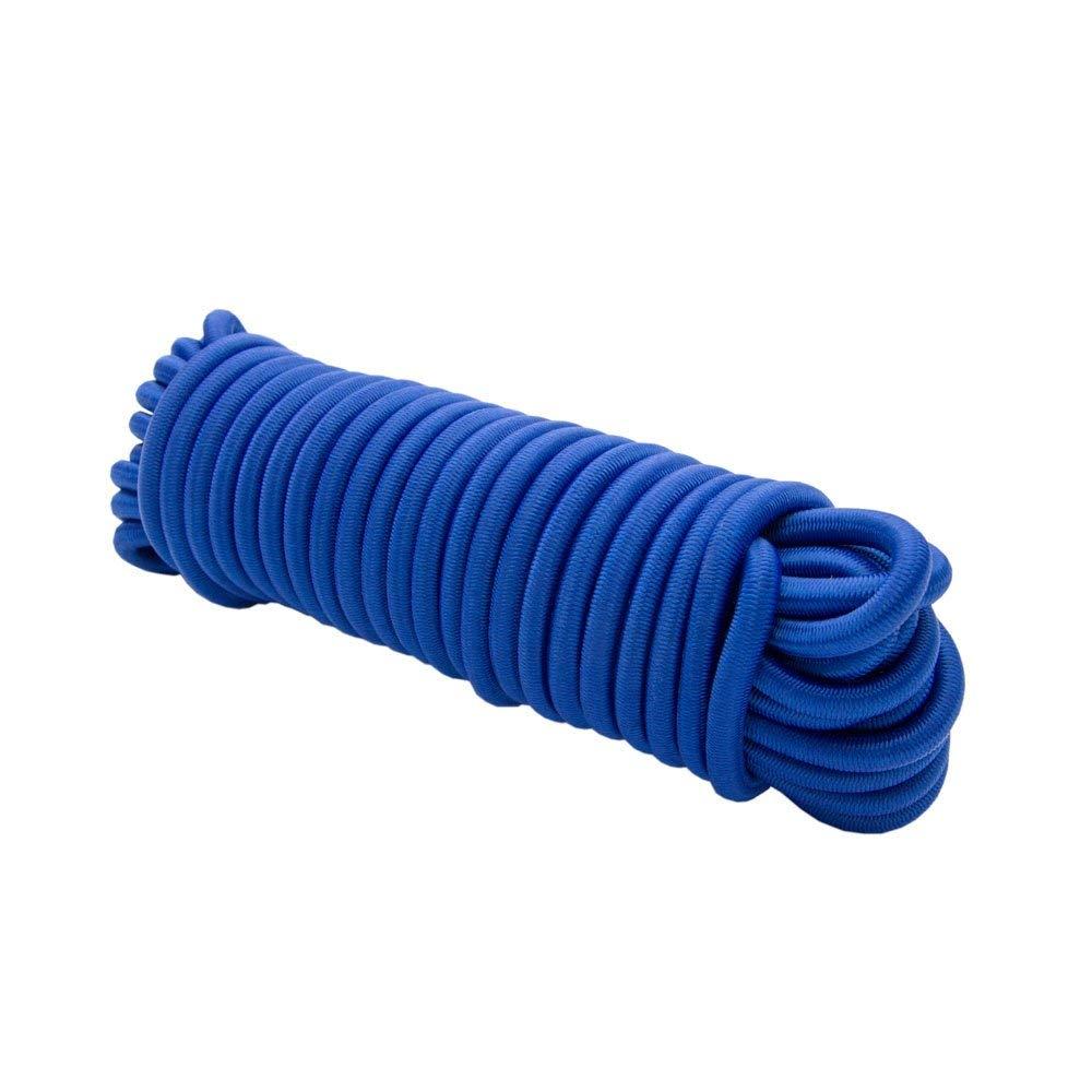 Cuerda expansora 10 m azul 6 mm cuerda el/ástica cuerda el/ástica cuerda de tensi/ón cuerda de lona cuerda el/ástica tensi/ón y sujeci/ón