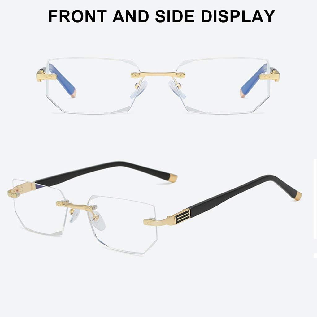Anti UV Blue Light Blocking Glasses,Anti Eyestrain,Visual Aided Glasses,Computer Reading Gaming TV Glasses for Women Men Anti Glare 1.0,1.5,2.0,2.5,3.0