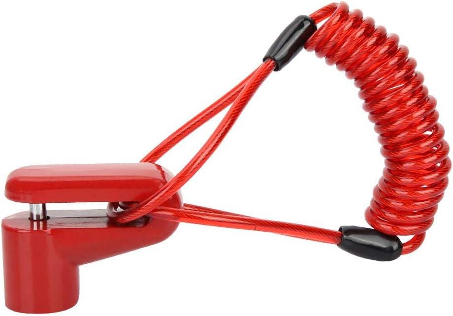 antifurto Moto Blocco Disco Allarme antifurto Freni a Disco Ruota con Filo Mijia M365 Scooter Elettrico Broco Bloccaggio Freno a Disco