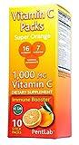 Cheap Vitamin C Pack Super Orange Flavor 10 Stick Packs Non-GMO 1,000mg Vitamin C, 16 nutrients, 7 B Vitamins, Powerful Antioxidants Immune Booster Non-Fizz Real Orange Pentlab