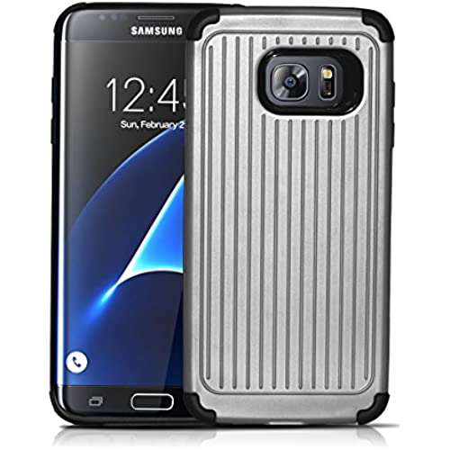 Samsung Galaxy S7 Edge Case, Qadou Adaptive Dynamic Soft Polymer Shockproof Case Protective Cover nonslip Phone Sales