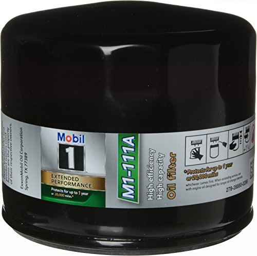 Mobil 1 M1-111A Extended Performance Oil Filter, 1 Pack