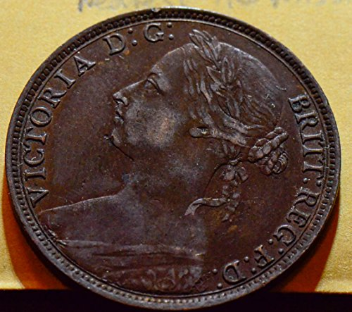 GR0049 Great Britain 13P Upper leaf group Nearest tie missing 1889 Penny - The Store Nearest