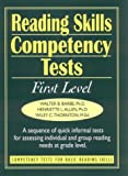 Reading Skills Competency Tests: First Level (J-B Ed: Ready-to-Use Activities)