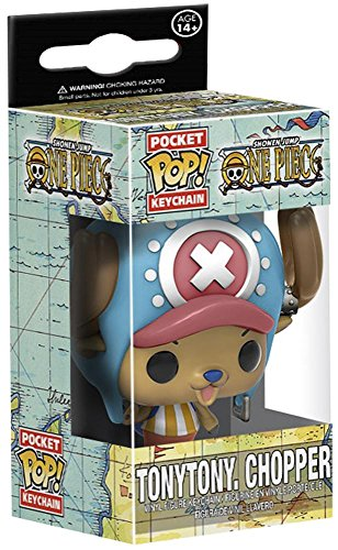 One Piece Chopper Pocket Pop! Key Chain (Chopper Pop)