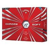 Callaway 2016 Chrome Soft Golf Balls, White (One Dozen)