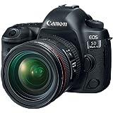 Canon EOS 5D Mark IV with EF 24-70mm f/4L IS USM Lens - With Special Promotional Bundle