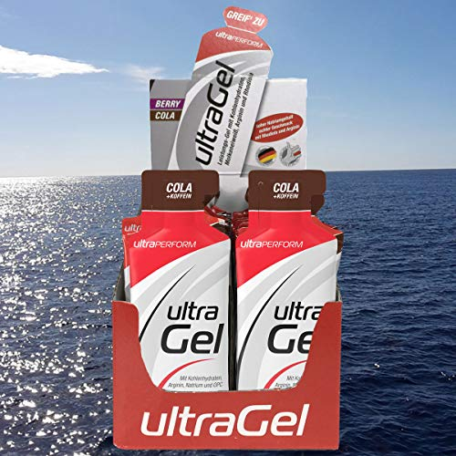 ULTRA Sports ultraPERFORM Gel Cola mit Coffein Box