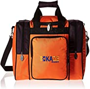 KAZE SPORTS Deluxe 1 Ball Bowling Tote Bag with Two Side Pockets