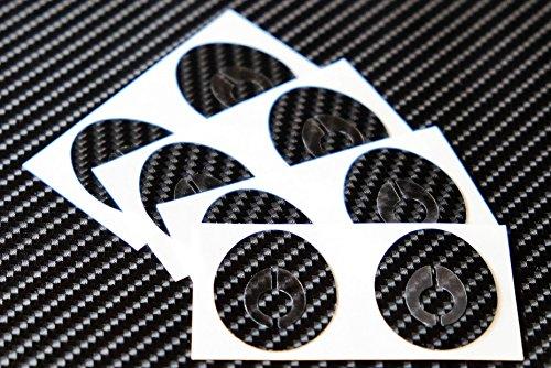 バランスエッグ シール ブラック 8枚セット