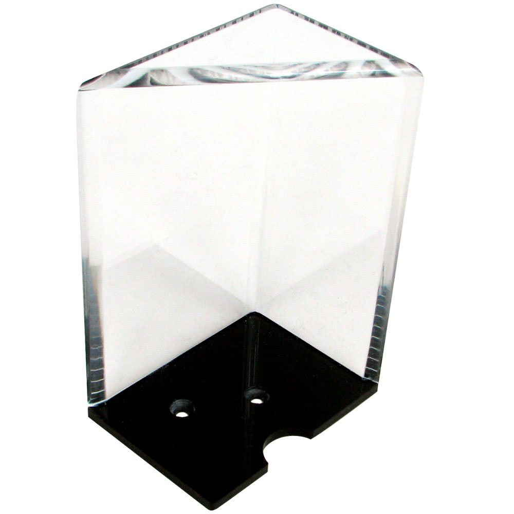Trademark Poker 10-3103 Trademark Global 8-Deck Professional Grade Acrylic Discard Holder with Top, Clear