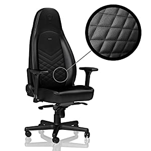 noblechairs ICON - Black - Gaming Chair/Office Chair/Desk Chair