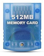 DADAWE 512MB(8192 Blocks) High Speed Gamecube Memory Card for Nintendo Wii Game Cube NGC GC