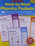 Week-by-Week Phonics Packets, Joan Novelli and Holly Grundon, 0545223040