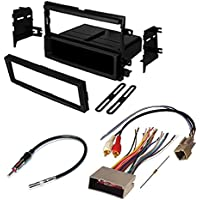 FORD F350 SUPER DUTY CAR RADIO STEREO RADIO KIT DASH INSTALLATION MOUNTING WIRING HARNESS RADIO ANTENNA