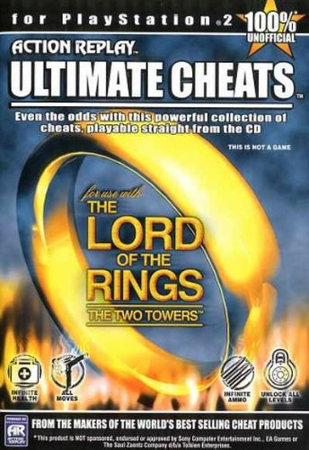 The Lord of the Rings: The Two Towers Cheat CD by Datel (Lord Of The Rings Two Towers Cheats)