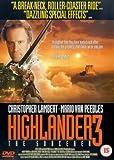 Highlander 3 - The Sorcerer [DVD] [1994]