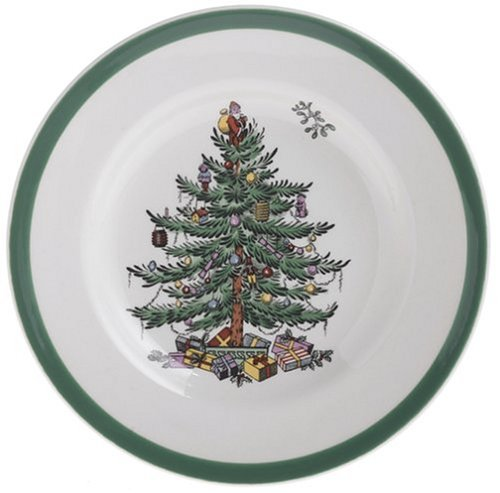 Spode Christmas Tree Dishwasher Safe - Spode Christmas Tree Bread and Butter Plate